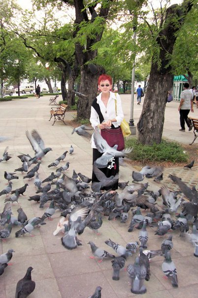 bangkok park swamped by birds