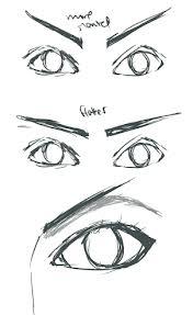 angry brow