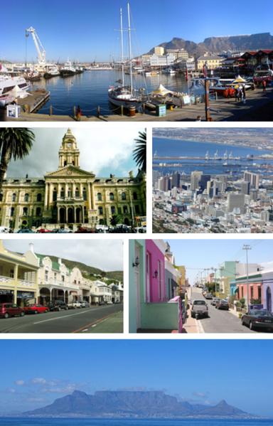 Cape Town Montage